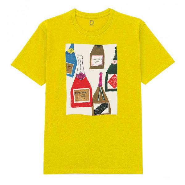Áo T-shirt Trẻ Em Champagne Dotilo HOLI1 - Vàng