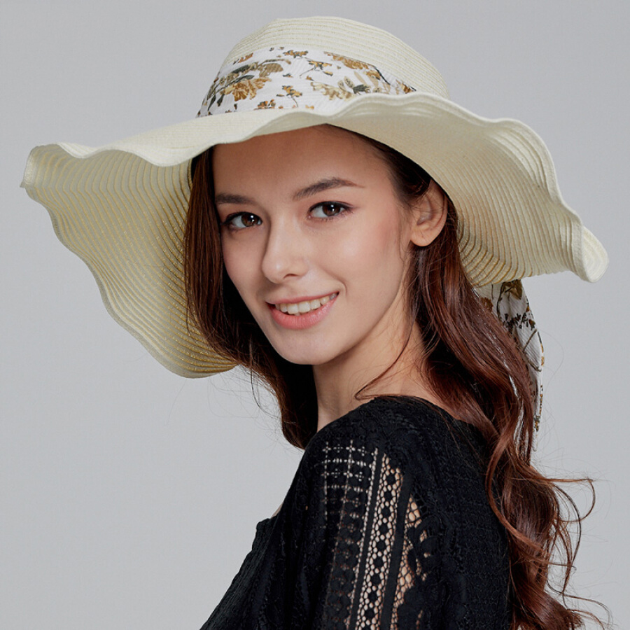 Mũ Rộng Vành Chống Nắng Nữ Le for comme lavie 18FB103