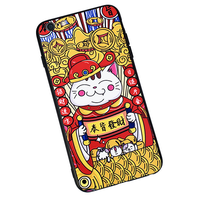 Ốp lưng iPhone 6/6s  ốp chiêu lộc - chiêu tài 4D