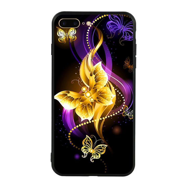 Ốp lưng nhựa cứng viền dẻo TPU cho điện thoại Iphone 7 Plus/8 Plus - Butterfly 02