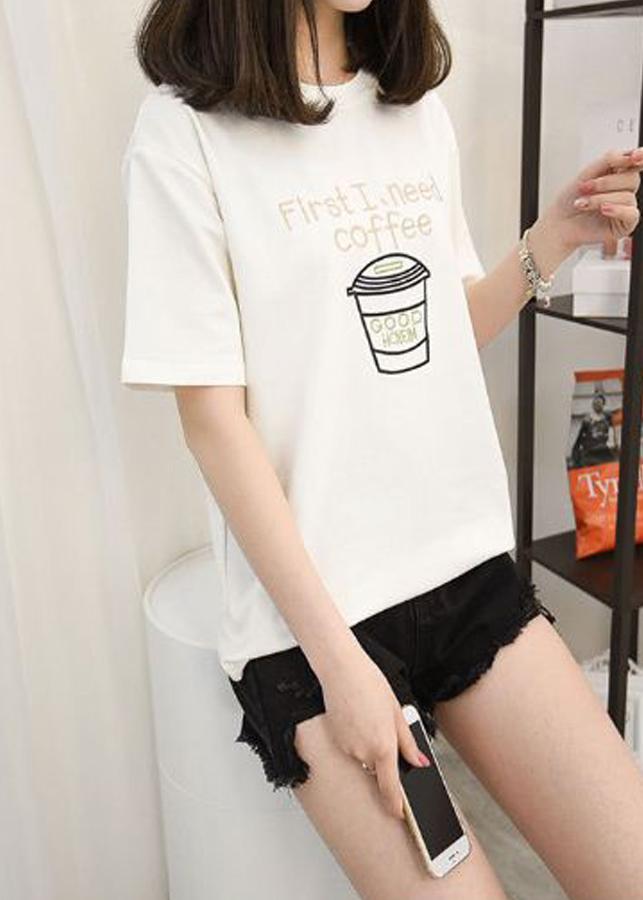 Áo Thun Nữ Coffee
