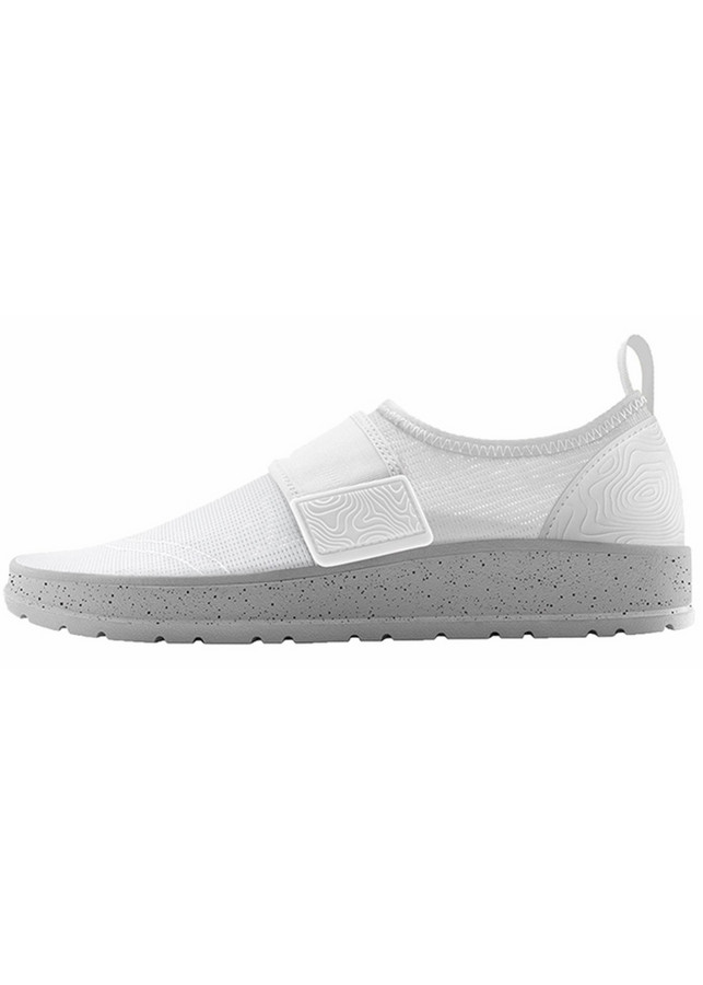 Giày Sneakers Nữ People Aqua Lennon NC04AQ-002 - Yeti White/Skyline Grey Speckle