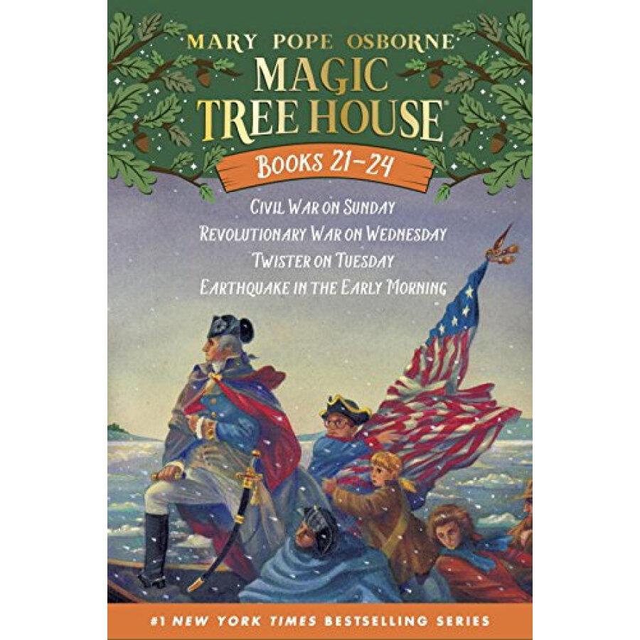 Magic Tree House Volumes 21-24 Boxed Set  American History Quartet - 1234855 , 1715607949124 , 62_5262199 , 464000 , Magic-Tree-House-Volumes-21-24-Boxed-Set-American-History-Quartet-62_5262199 , tiki.vn , Magic Tree House Volumes 21-24 Boxed Set  American History Quartet