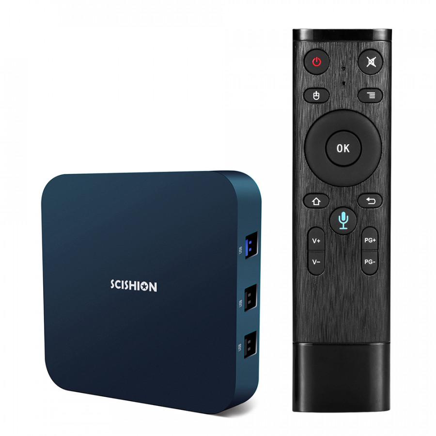 SCISHION AI ONE Smart Android 8.1 TV Box RK3328 Quad Core UHD 4K VP9 H.265 2GB/16GB 2.4G WiFi - 1837606 , 6013670500491 , 62_13794577 , 1639000 , SCISHION-AI-ONE-Smart-Android-8.1-TV-Box-RK3328-Quad-Core-UHD-4K-VP9-H.265-2GB-16GB-2.4G-WiFi-62_13794577 , tiki.vn , SCISHION AI ONE Smart Android 8.1 TV Box RK3328 Quad Core UHD 4K VP9 H.265 2GB/16G