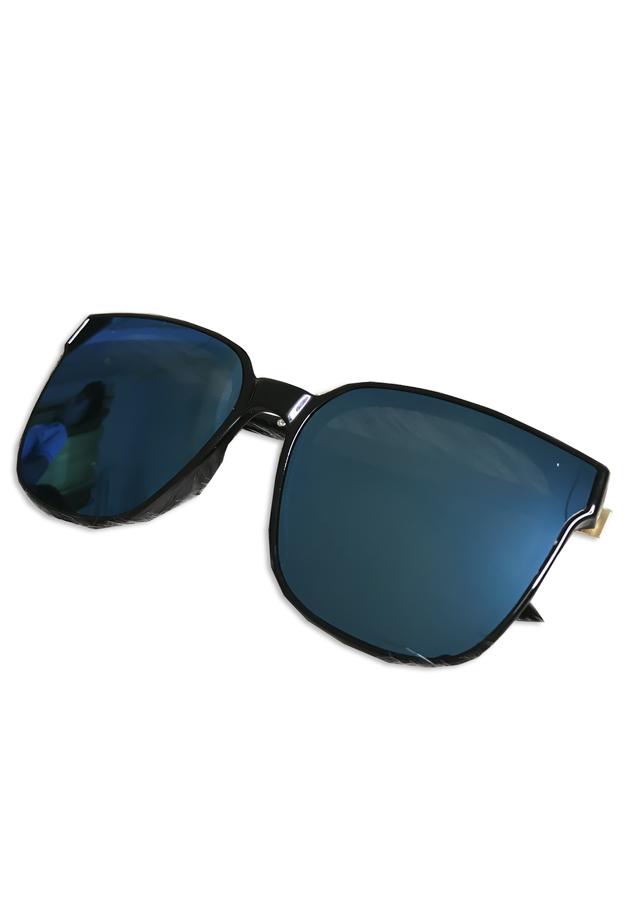 Kính Mắt Thời Trang Nam Nữ Màu Xanh Dương Gọng Hợp Kim Chắc Chắn - Tránh Tia UV Cực Tốt GS-01