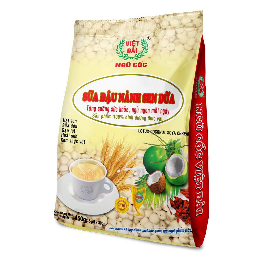 Sữa đậu nành sen dừa 450gram