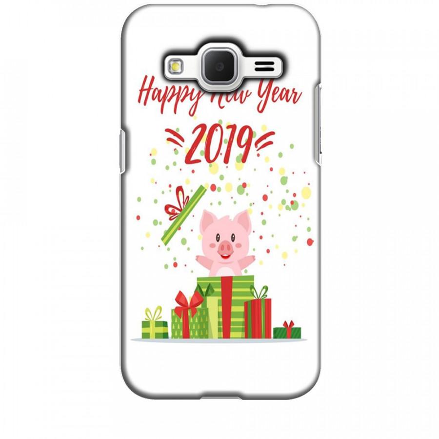 Ốp lưng dành cho điện thoại  SAMSUNG GALAXY CORE PRIME Happy New Year Mẫu 3