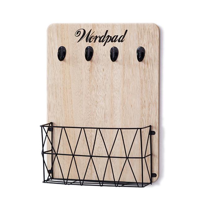 Kệ gỗ đa năng treo tường Wordpad