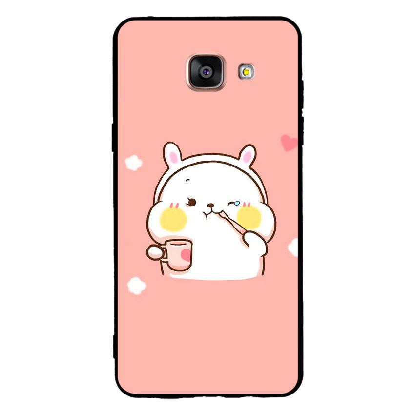 Ốp lưng viền TPU cho điện thoại Samsung Galaxy A5 2016 - Cute 06