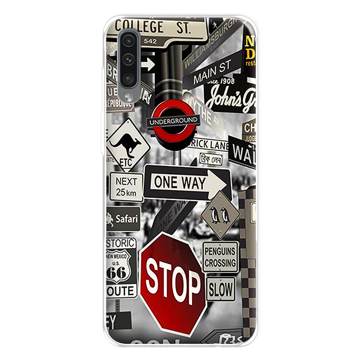 Ốp lưng dẻo cho điện thoại Samsung Galaxy A50 - 224 0080 STREET01