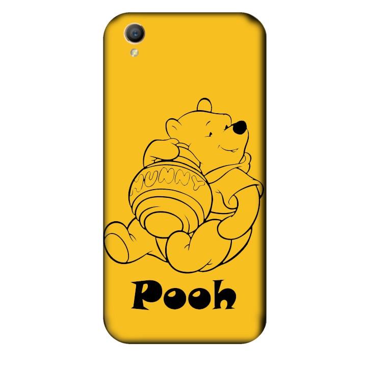 Ốp lưng nhựa cứng nhám dành cho Oppo Neo 9 A37 in hình Pooh