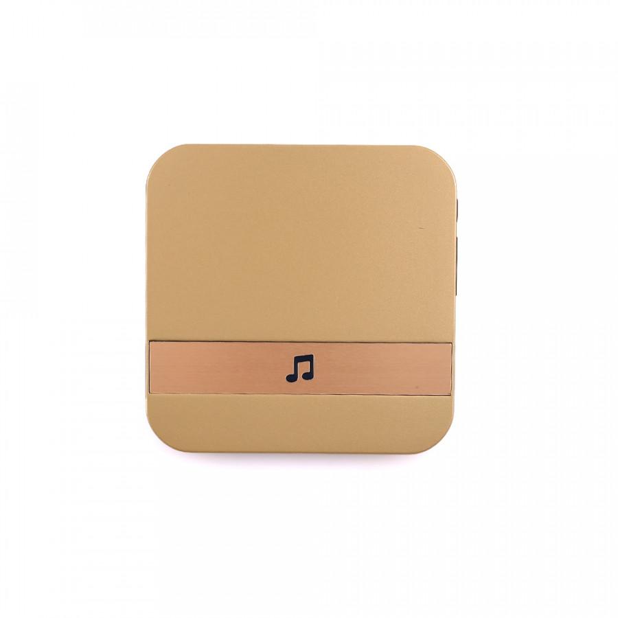 Wifi Doorbell Chime Visual Doorbell Chime Universal House Visitors Plug-In Chime Gold Waterproof Music Doorbell Door Hardware