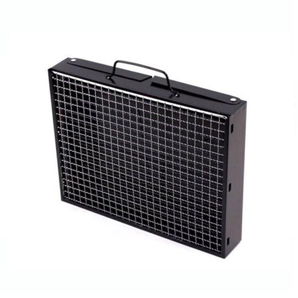 Bếp nướng than hoa vuông sơn tĩnh điện (đen)- GS00105