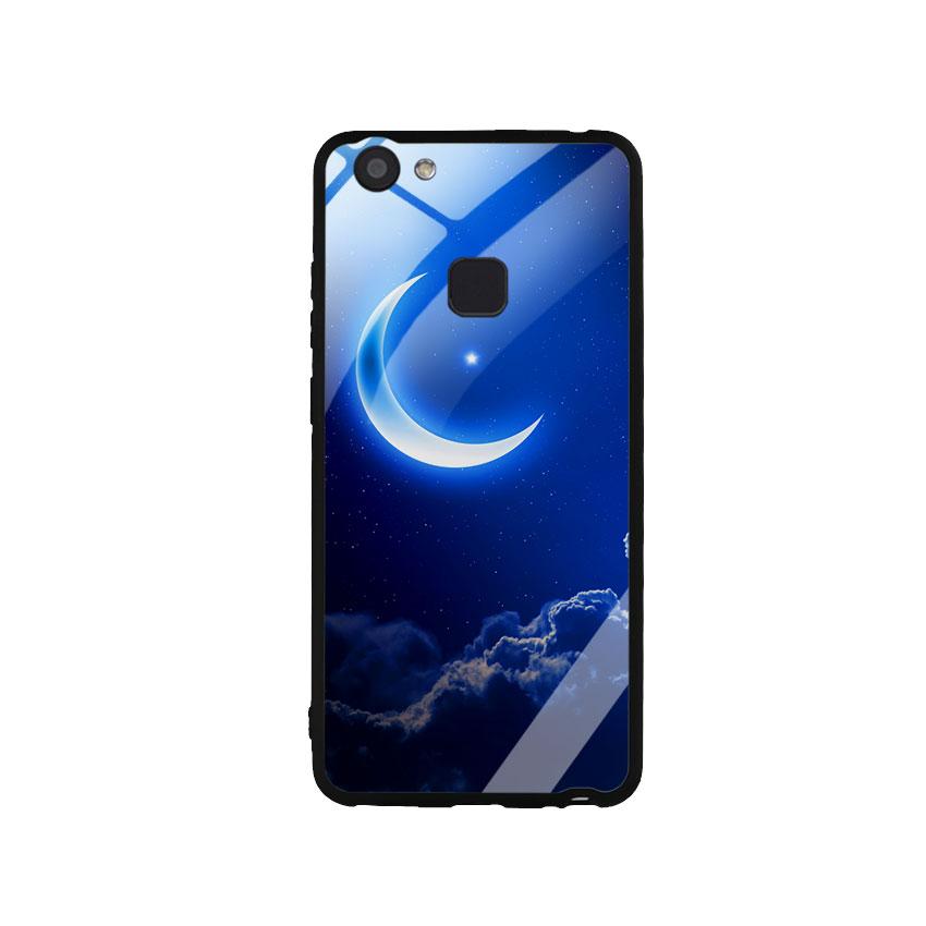 Ốp Lưng Kính Cường Lực cho điện thoại Vivo V7 Plus -  0220 MOON01