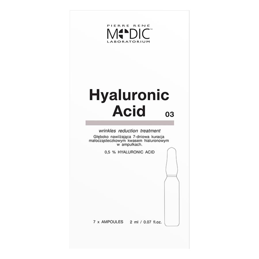 Huyết Thanh Dưỡng Ẩm Tái Tạo Da-Pierre René Hyaluronic Acid Ampoules Medic (7 x 2 ml)