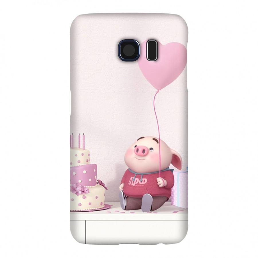 Ốp Lưng Cho Điện Thoại Samsung Galaxy S6 - Mẫu heocon 32