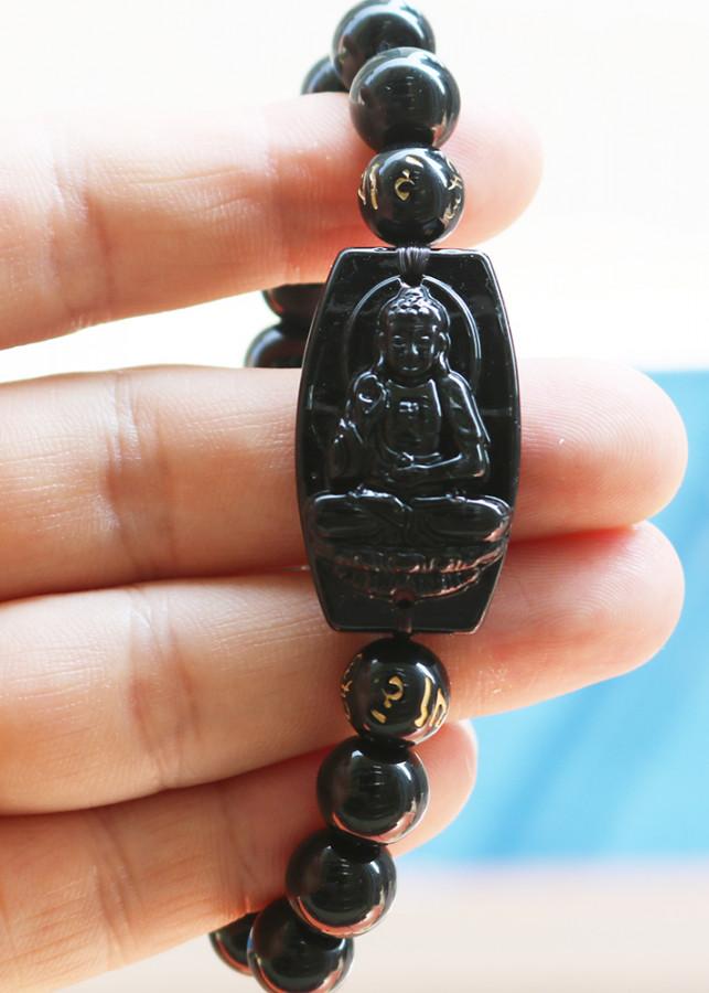 Vòng tay mặt phật Đại Nhật Như Lai hạt 10Ly - Phật bản mệnh