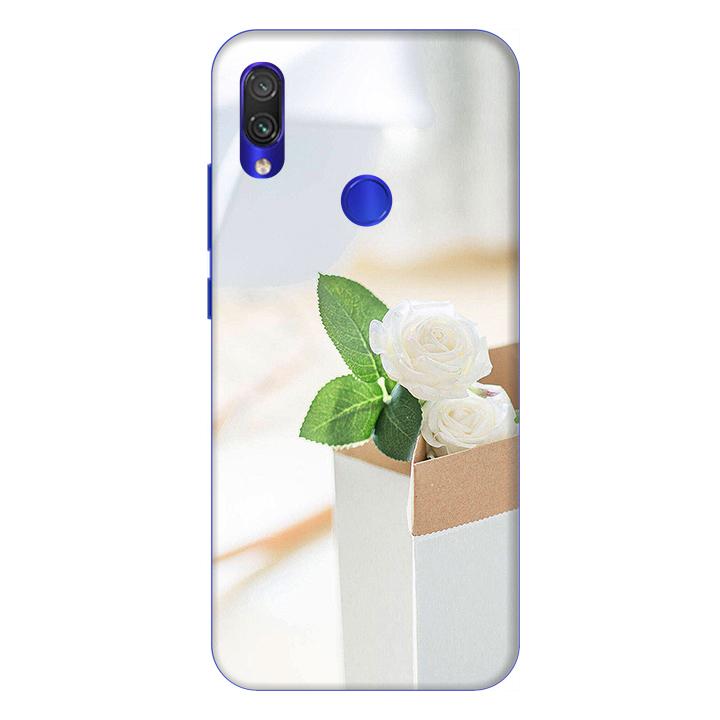 Ốp lưng dành cho điện thoại Xiaomi Redmi Note 7 hình Chậu hoa Cúc Trắng - Hàng chính hãng