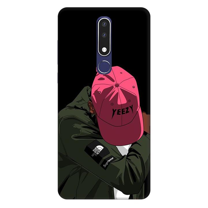 Ốp lưng nhựa cứng nhám dành cho Nokia 3.1 Plus in hình Chỉ Thế Thôi