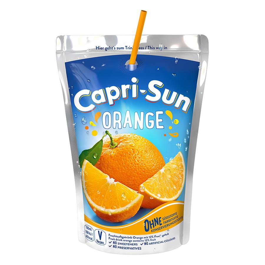 Nước Trái Cây Capri Sun Vị Cam (200ml)