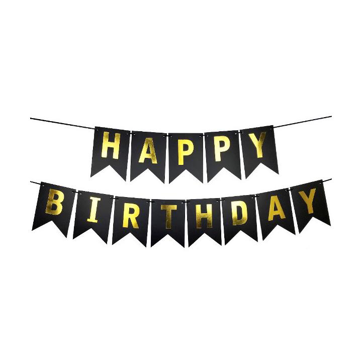 Dây treo trang trí happy birthday