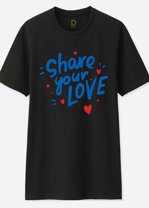 Áo Phông Cặp Đôi Share Your Love - màu đen - hm189 - 16516928 , 4252774889251 , 62_25589520 , 648000 , Ao-Phong-Cap-Doi-Share-Your-Love-mau-den-hm189-62_25589520 , tiki.vn , Áo Phông Cặp Đôi Share Your Love - màu đen - hm189