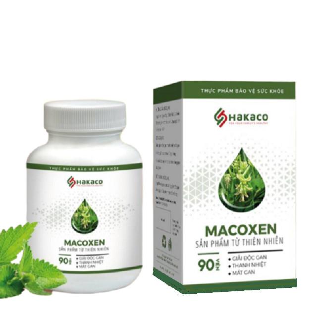 Thực phẩm chức năng hỗ trợ điều trị mề đay mẫn ngứa MACOXEN