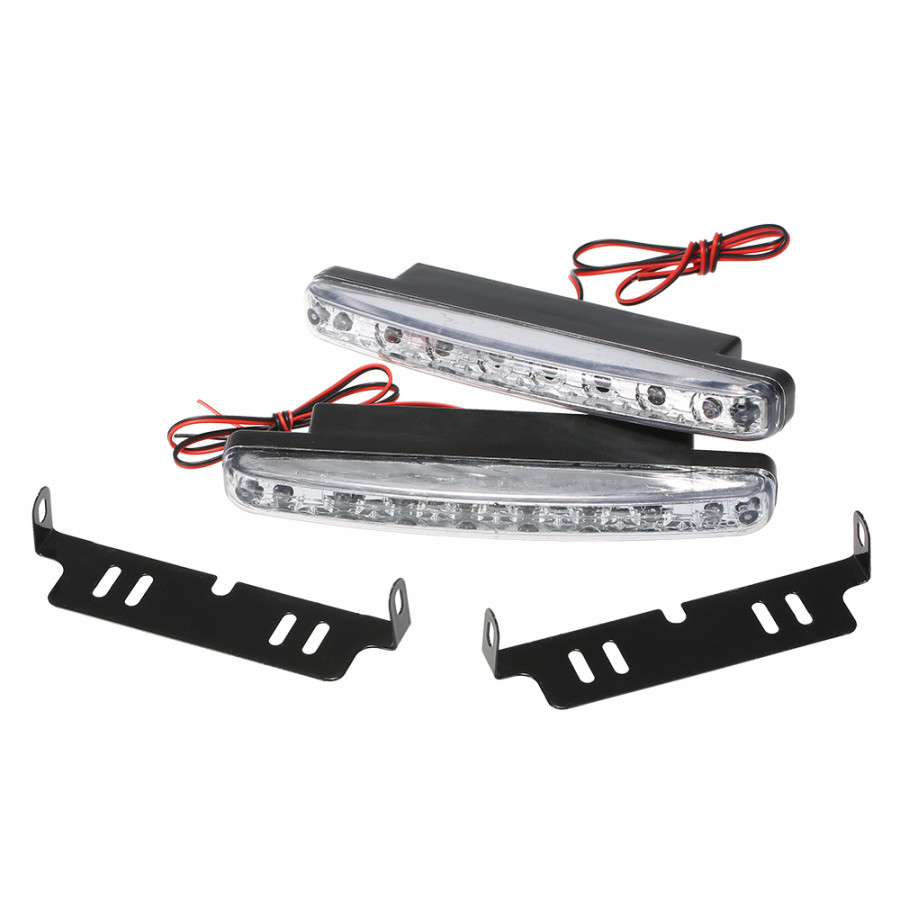 1PCS 8 LED DRL Daytime Running Light Lamp Daylight Driving 3W 12V for Car SUV Sedan Coupe Vehicle Universal - 1973953 , 8684198781167 , 62_15269019 , 213000 , 1PCS-8-LED-DRL-Daytime-Running-Light-Lamp-Daylight-Driving-3W-12V-for-Car-SUV-Sedan-Coupe-Vehicle-Universal-62_15269019 , tiki.vn , 1PCS 8 LED DRL Daytime Running Light Lamp Daylight Driving 3W 12V for