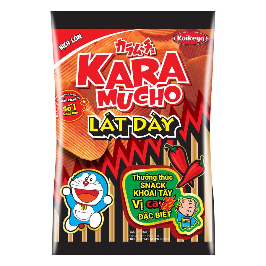Snack Khoai Tây Karamucho Lát Dày Vị Cay