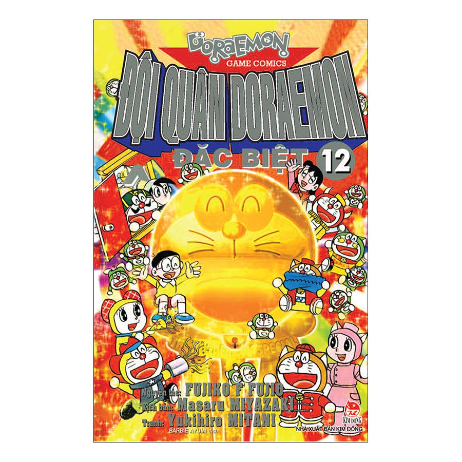 Đội Quân Doraemon Đặc Biệt - Tập 12 (Tái Bản 2019) - 1874784 , 3198817705403 , 62_14273558 , 18000 , Doi-Quan-Doraemon-Dac-Biet-Tap-12-Tai-Ban-2019-62_14273558 , tiki.vn , Đội Quân Doraemon Đặc Biệt - Tập 12 (Tái Bản 2019)