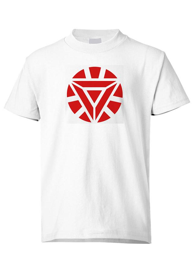 Áo Thun Biểu Tượng Người Sắt Ironman Marvel