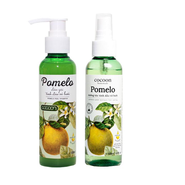 Combo Xịt dưỡng tóc và Dầu gội tinh dầu vỏ bưởi Pomelo Cocoon 130ml giảm rụng tóc - 9493895 , 9351177629527 , 62_16833573 , 175000 , Combo-Xit-duong-toc-va-Dau-goi-tinh-dau-vo-buoi-Pomelo-Cocoon-130ml-giam-rung-toc-62_16833573 , tiki.vn , Combo Xịt dưỡng tóc và Dầu gội tinh dầu vỏ bưởi Pomelo Cocoon 130ml giảm rụng tóc