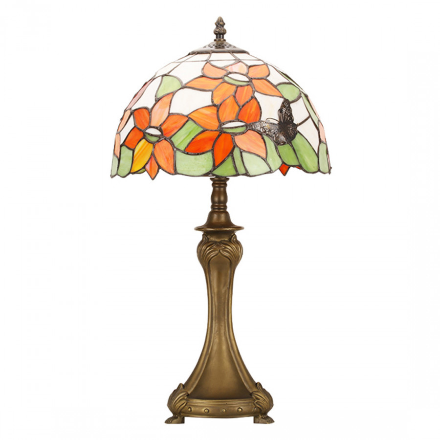 Tiffany Colorful Glass Butterfly Retro Style European Living Room Reading Room Lamp Lhj-Td0760661 Australian Rules