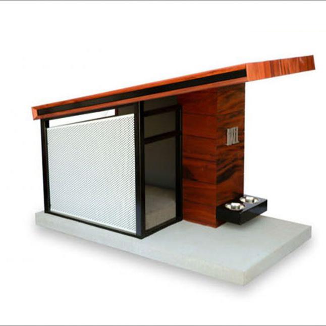 Nhà gỗ hiện đại cho chó #DH006