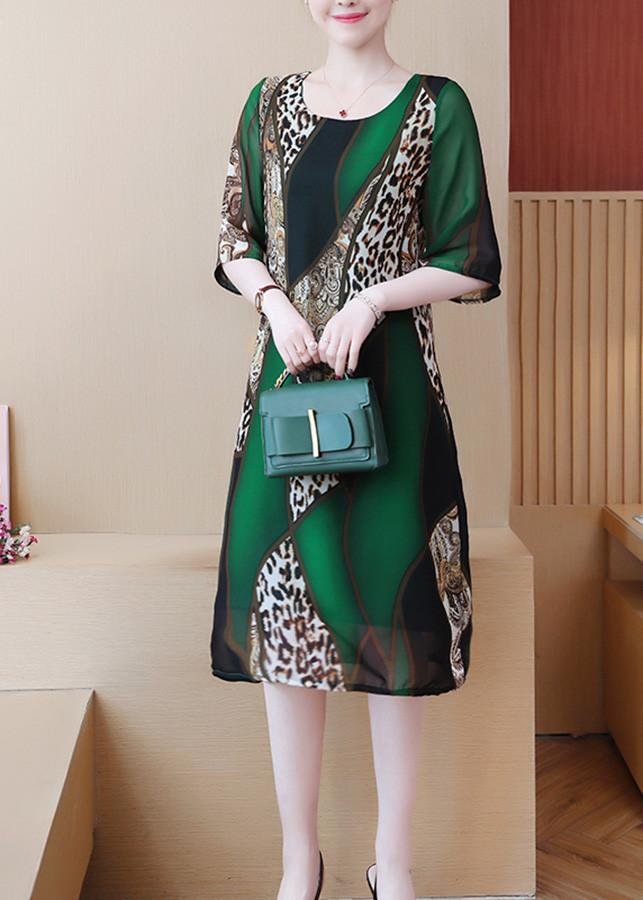 1699894107415 - Đầm suông dạo phố kiểu đầm suông Big Size đẹp in họa tiết ROMI3062