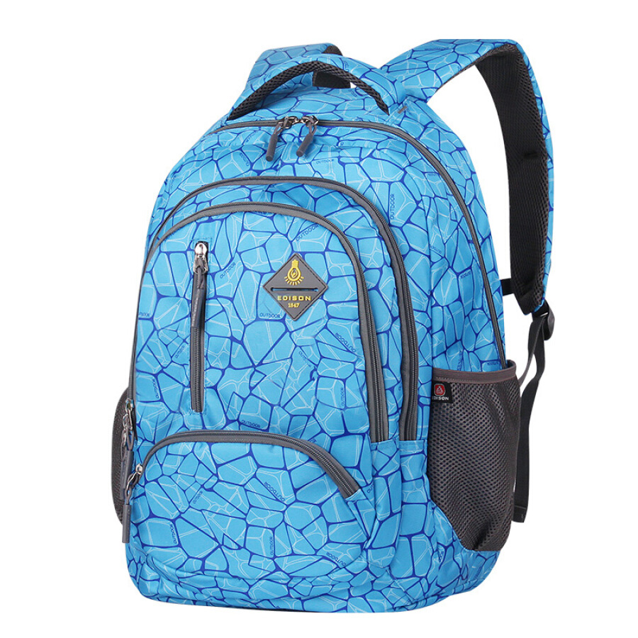 Edison backpack waterproof weight loss large capacity junior high school students college bags men and women fashion casual sports travel... - 1906958 , 5621263170368 , 62_10249630 , 599000 , Edison-backpack-waterproof-weight-loss-large-capacity-junior-high-school-students-college-bags-men-and-women-fashion-casual-sports-travel...-62_10249630 , tiki.vn , Edison backpack waterproof weight lo