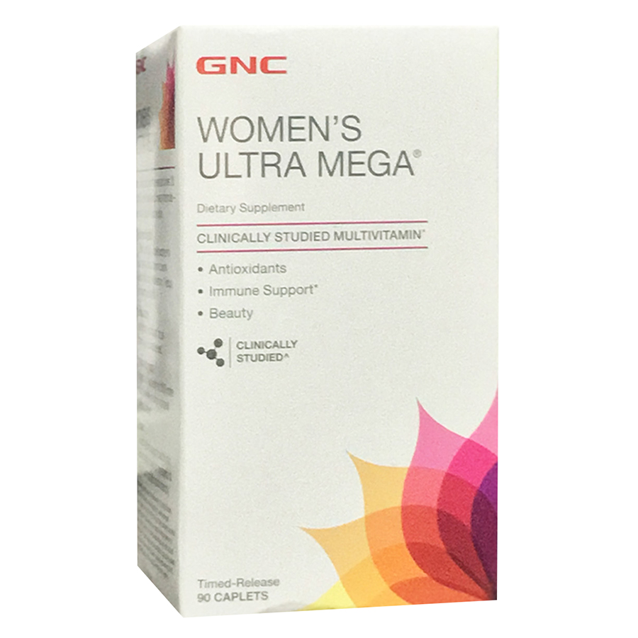Thực Phẩm Chức Năng Bổ sung vitamin, khoáng chất cho phụ nữ trưởng thành GNC WOMEN