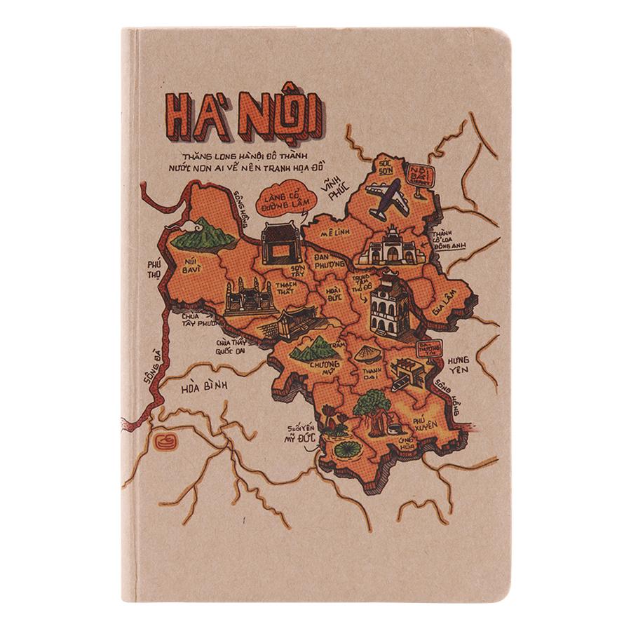 Sổ Tay Phố Thị Du Ký (S) - Hà Nội (100 Trang)