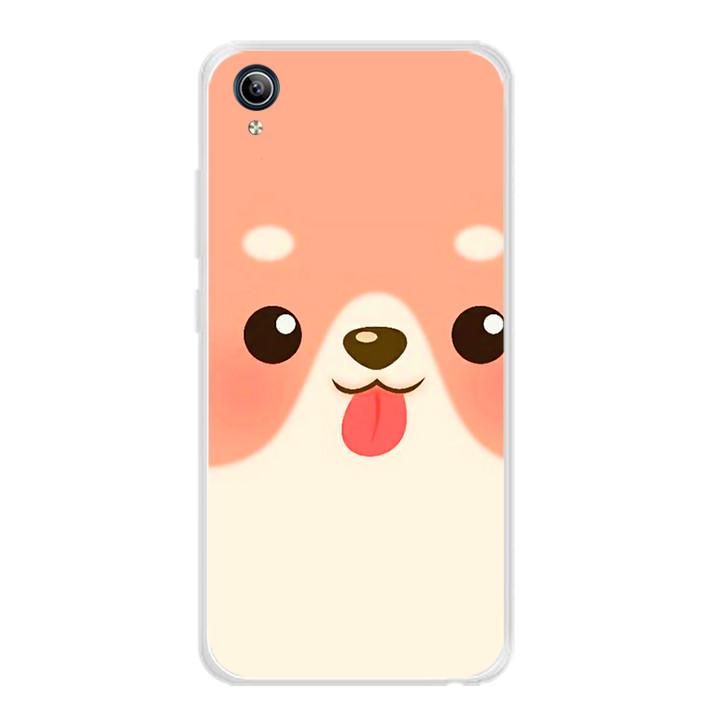 Ốp lưng dẻo cho điện thoại Vivo Y91C - 0007 DOG10 - Hàng Chính Hãng
