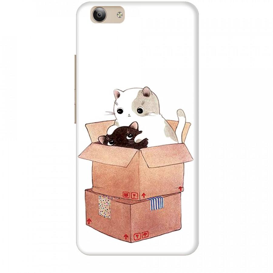 Ốp lưng dành cho điện thoại VIVO Y53 2017 Mèo Con Dễ Thương
