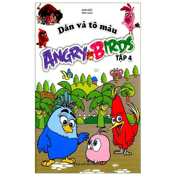 Dán Và Tô Màu Angrybirds - Tập 4