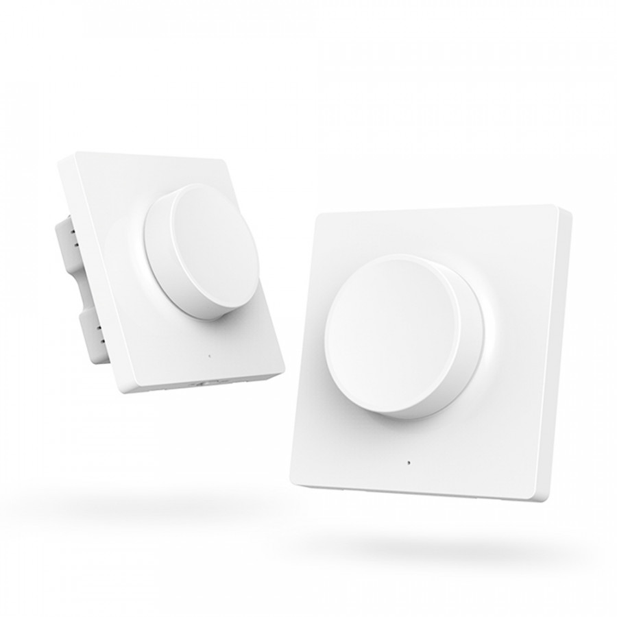 Yeelight AC200-220V 180W(Max.) BT Connected Intelligent Wall Switch Control Moon Light/ Day Light Modes/ Brightness