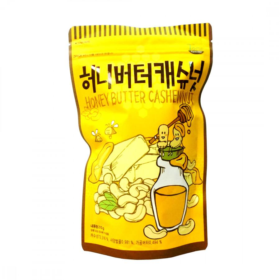 Hạt Điều Tẩm Bơ Mật Ong Hàn Quốc Tom