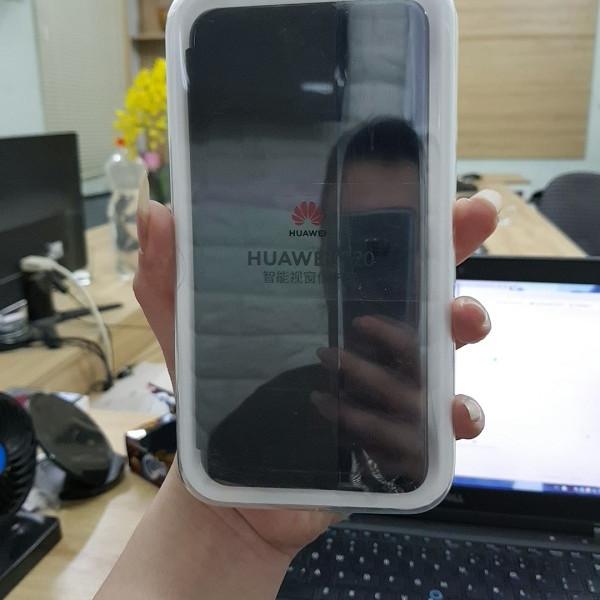 Bao da Huawei P20 S View chính hãng - Đen