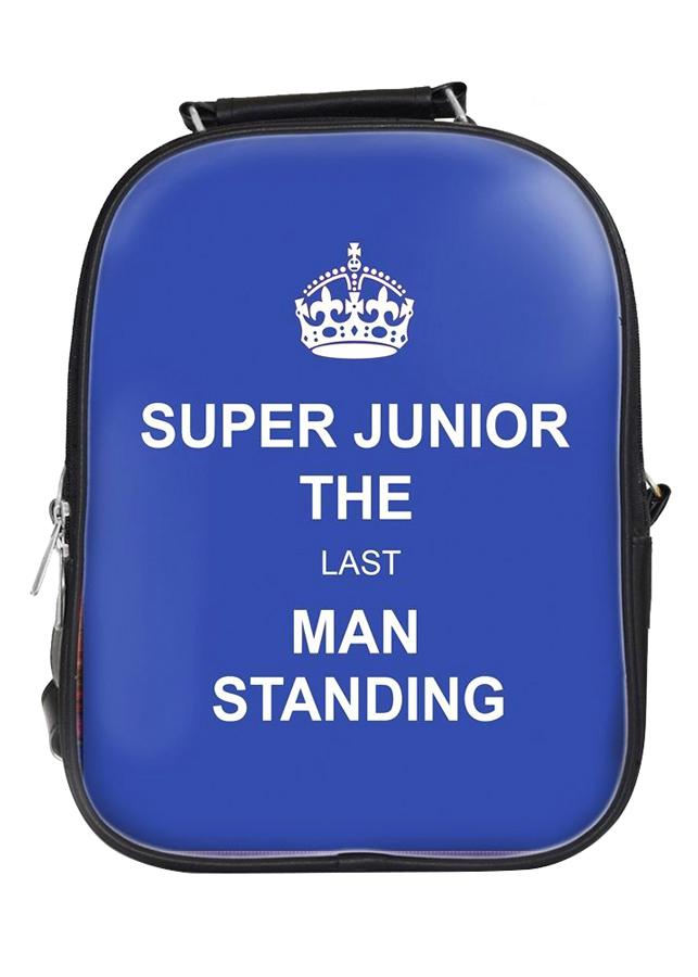 Balo Nữ In Hình Super Junior The Last Man Stading - BLKL066