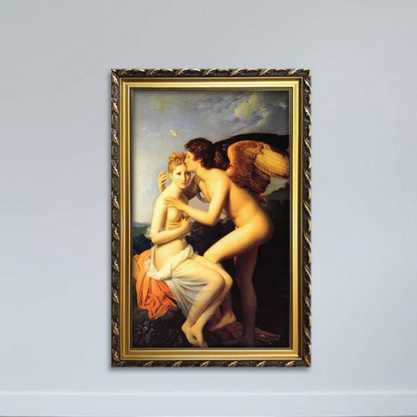 Tranh Khỏa Thân Cổ Điển - Tranh Treo Tường Phòng Ngủ Canvas Có Viền W1146