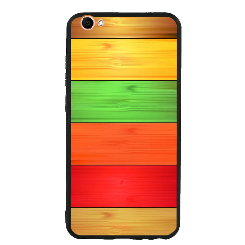 Ốp lưng nhựa cứng viền dẻo TPU cho điện thoại Samsung Galaxy J4 Plus - Sắc Màu