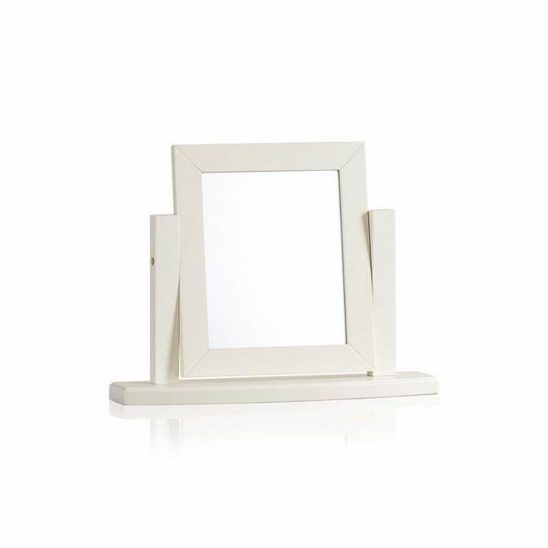 Gương Để Bàn Shutter Gỗ Sồi Ibie GMPSHUO - Trắng (60 x 14 cm)