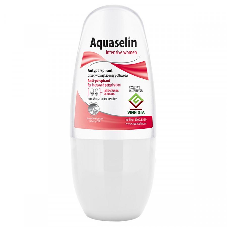 Aquaselin - Lăn nách dành cho nữ ngăn tiết mồ hôi và mùi hôi cơ thể - 18430119 , 5187377453327 , 62_19904249 , 319000 , Aquaselin-Lan-nach-danh-cho-nu-ngan-tiet-mo-hoi-va-mui-hoi-co-the-62_19904249 , tiki.vn , Aquaselin - Lăn nách dành cho nữ ngăn tiết mồ hôi và mùi hôi cơ thể