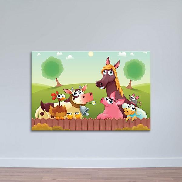 Tranh Canvas Treo Phòng Ngủ Trẻ Em W1183 - Hoạt Hình